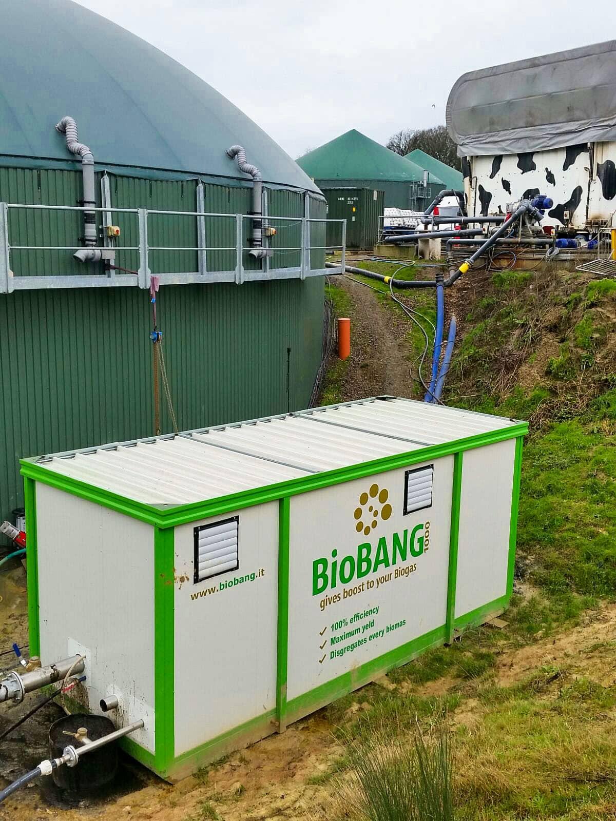 Vantaggi Biogas - BioBANG alimentato a letame